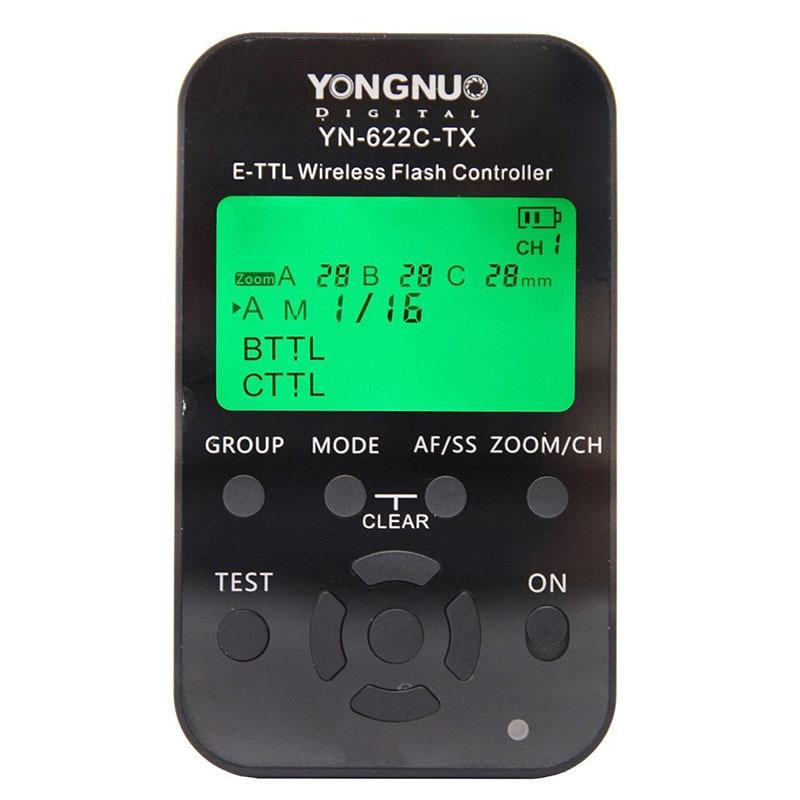 Yongnuo YN-622C-TX YN622C-TX Wireless I-TTL Flash Trigger Controller Transmitter for YN-622C Transceiver Receiver for Canon DSL<br><br>Aliexpress