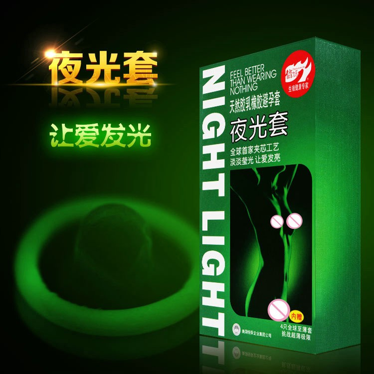 10 boxes (70pcs)/lot Night Light Glowing Condoms&Ultra Thin Condoms In The Dark Luminous Condom Sexy Adult Sex Products For Men