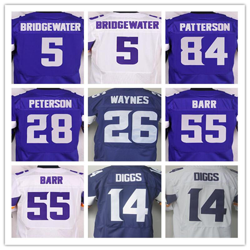 11 Laquon Treadwell 5 Teddy Bridgewater 14 Stefon Diggs 28 Adrian Peterson 26 Trae Wayn 55 Anthony Barr 84 Cordarrelle Patterson(China (Mainland))