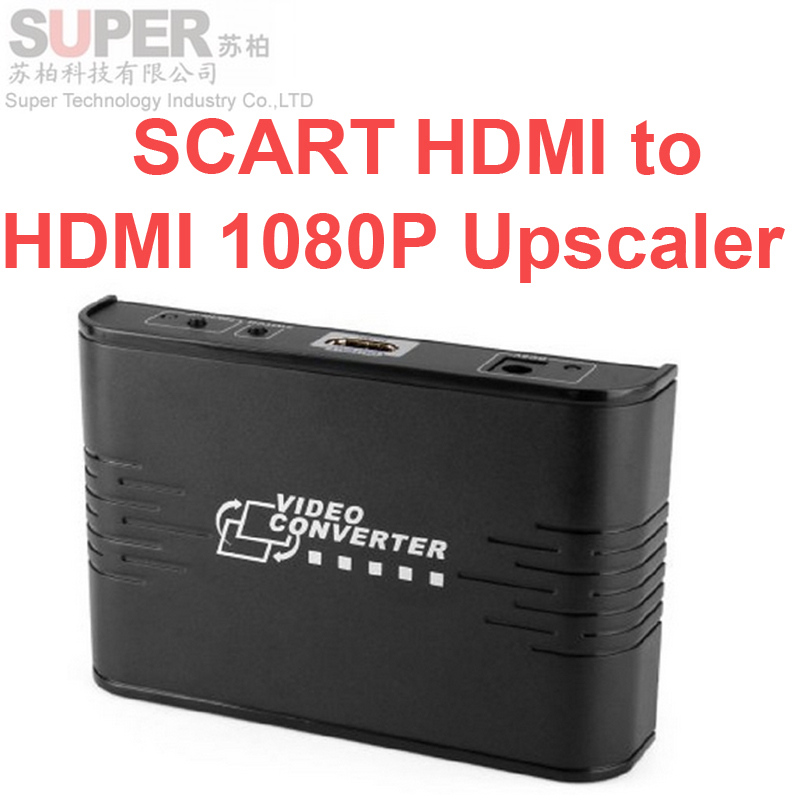 362A SCART to HDMI video converter,audio video extender to HDMI,SCART HDMI to HDMI 1080P Upscaler switch converts CVBS&Audio(China (Mainland))