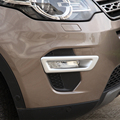 Car exterior part accessories front fog light frame for Land Rover discovery sport 2015 2016