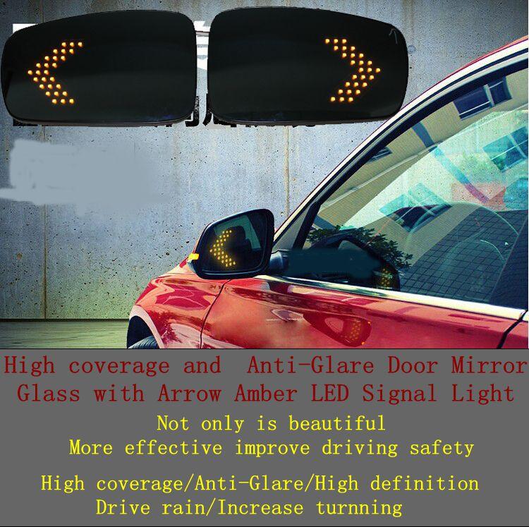 High coverage Anti-Glare Door Mirror LED Ford Mondeo Fusion 09-12 - QIAOLI LIU's store