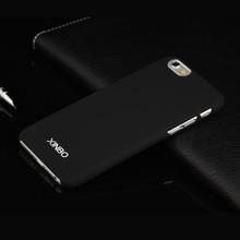 Горячая Xinbo 0.8 мм ультратонкий полупроницаемую пластиковый чехол Fundas коке пункт для Apple iPhone 6 телефон чехол черный 11 цвета