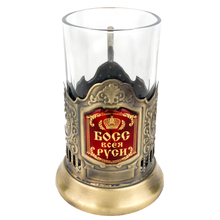 Russian decorative Zinc Alloy tea Cups / coffee Cup & cup holder /drink cup /Wine Cups present to Russian patriarch or boss