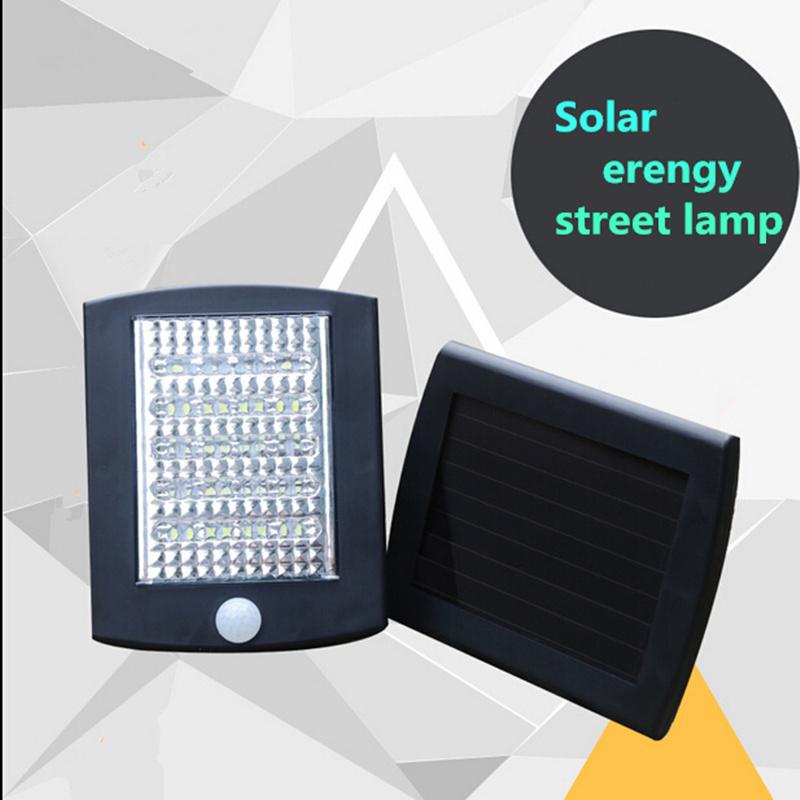 Solar Security Light Motion Sensor Solar Powered Panel LED Street Light Wall Emergency Lamp 36 LED Battery