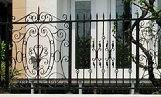 cerca de jardim ferro : cerca de jardim ferro:jardim / cerca de ferro forjado / aço carbono de confiança cerca de