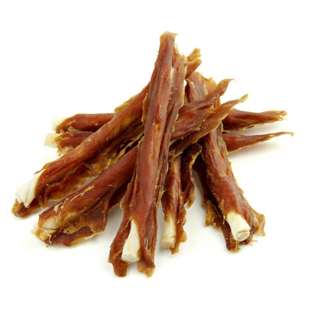Pet Cuisine Pet Dog Health Meat Treats Puppy Chewy, Duck Jerky & Pigskin Sticks, 340g(China (Mainland))