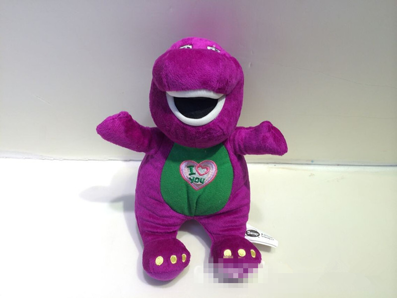 Barney Child's Best Friend Singing Stuffed & Plush animal Doll Toy  W/music P3