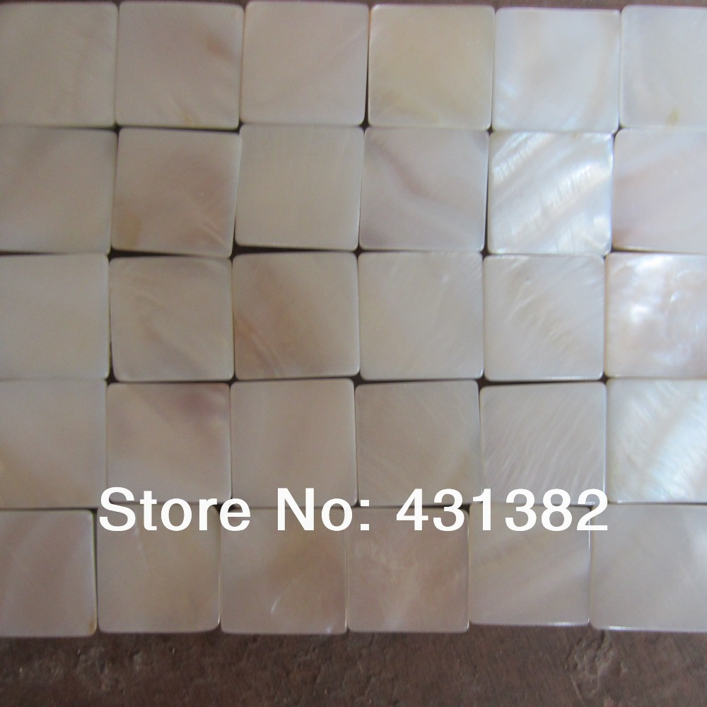 of pearl mosaic tiles with of pearl tile backsplash