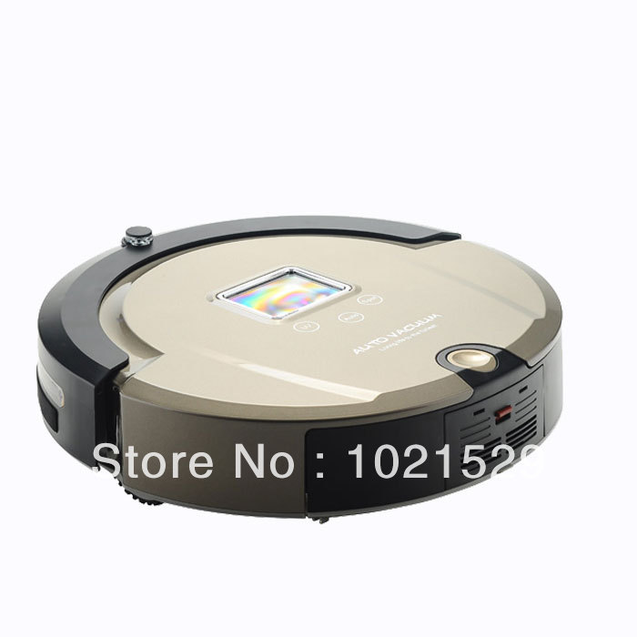 Robot Vacuum Cleaner Automatic Floor A320Wet and Dry Cleaner With Sweep Vacuum Mop Sterilize(China (Mainland))