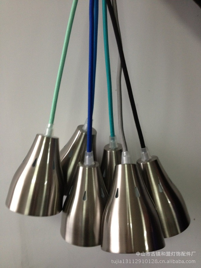 E27 metal lamp cup lamp cup E27 E27 factory direct color / chrome plated metal lamp cup(China (Mainland))