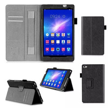 MediaPad M2 Tablet Case For Huawei Mediapad M2 8.0 Flip Book PU Leather Case +protector(China (Mainland))