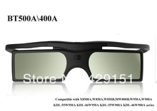 Free shipping Active Bluetooth 3D Glasses Instead TDG-BT500A TDG-BT400A For Sony TV(China (Mainland))