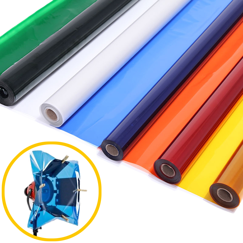 """Meking Professional 40*50cm 15.7*19.6"""" Paper Gels Color Filter for Stage Lighting Redhead Light(China (Mainland))"""