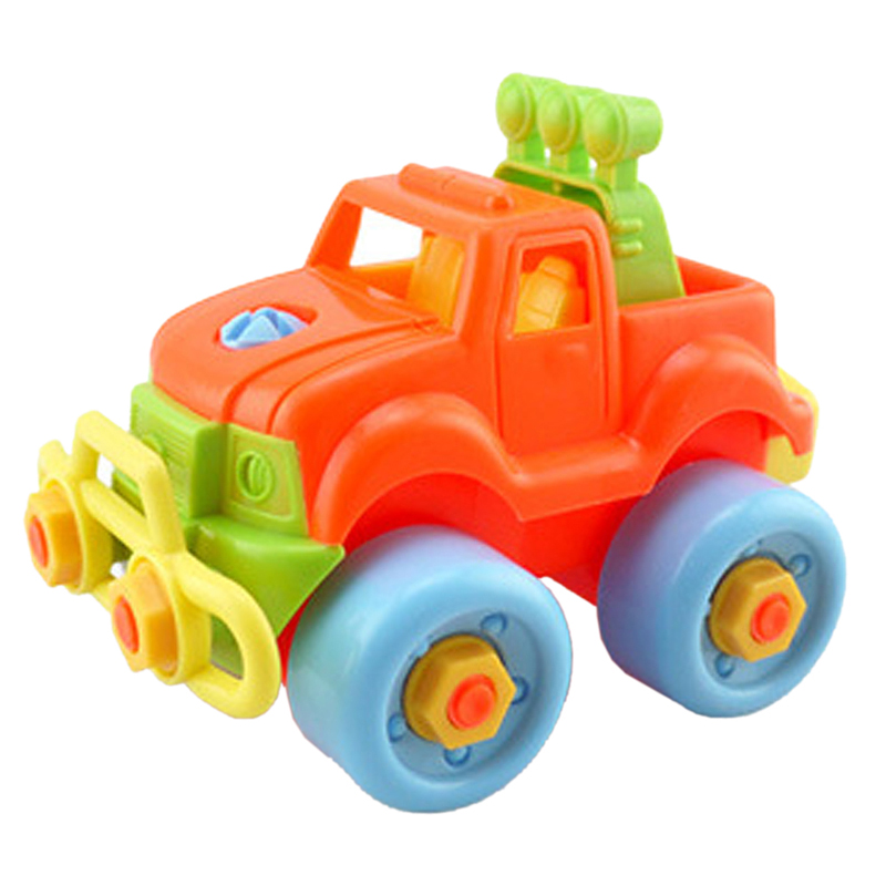 Pop Christmas Gift Kids Child Baby Boy Disassembly Assembly Classic Car Toy(China (Mainland))