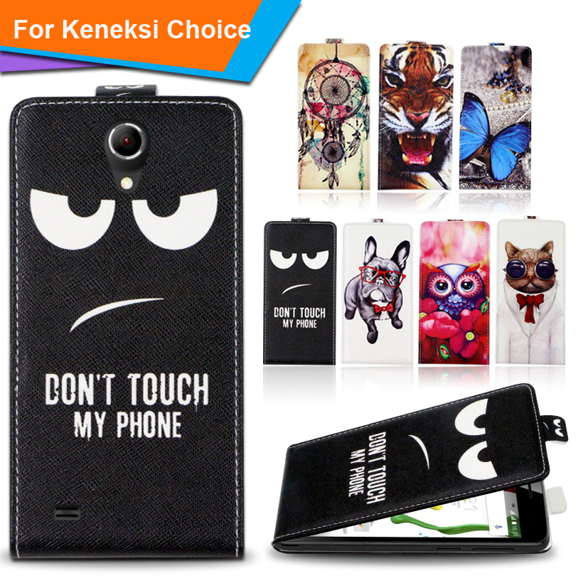 Newest 2016 For Keneksi Choice Factory Price Luxury Cool Printed Cartoon 100% Special PU Leather Flip case,Gift(China (Mainland))