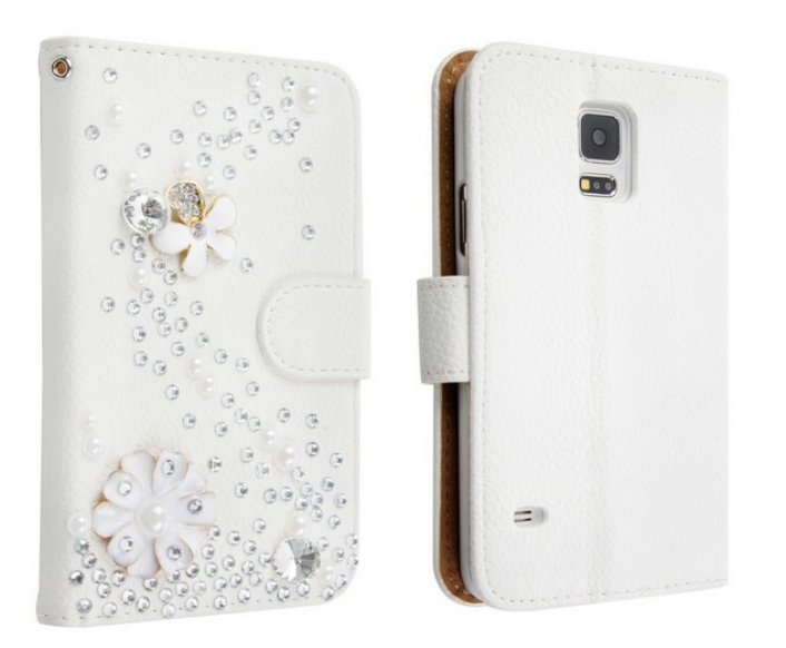 Fantastic Wallet Leather Flip Card Pouch Stand Cover Case + Stylus For Samsung Galaxy S5 I9600 ,Free shipping(China (Mainland))