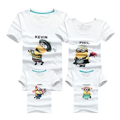 Семья соответствующие одежды хлопок футболка летние соответствия мать дочь одежда ...