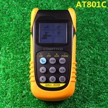 free shipping Multi functional AT801C ADSL Tester ADSL2 Tester DMM PING Test Meter ADSL2 Tester With