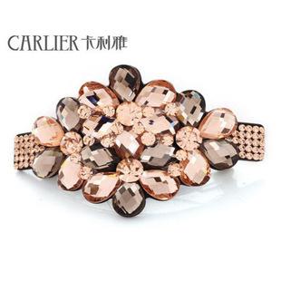 Korean jewelry hair accessories hairpin high-grade Crystal Rhinestone Hair Clip flower wholesale manufacturers(China (Mainland))