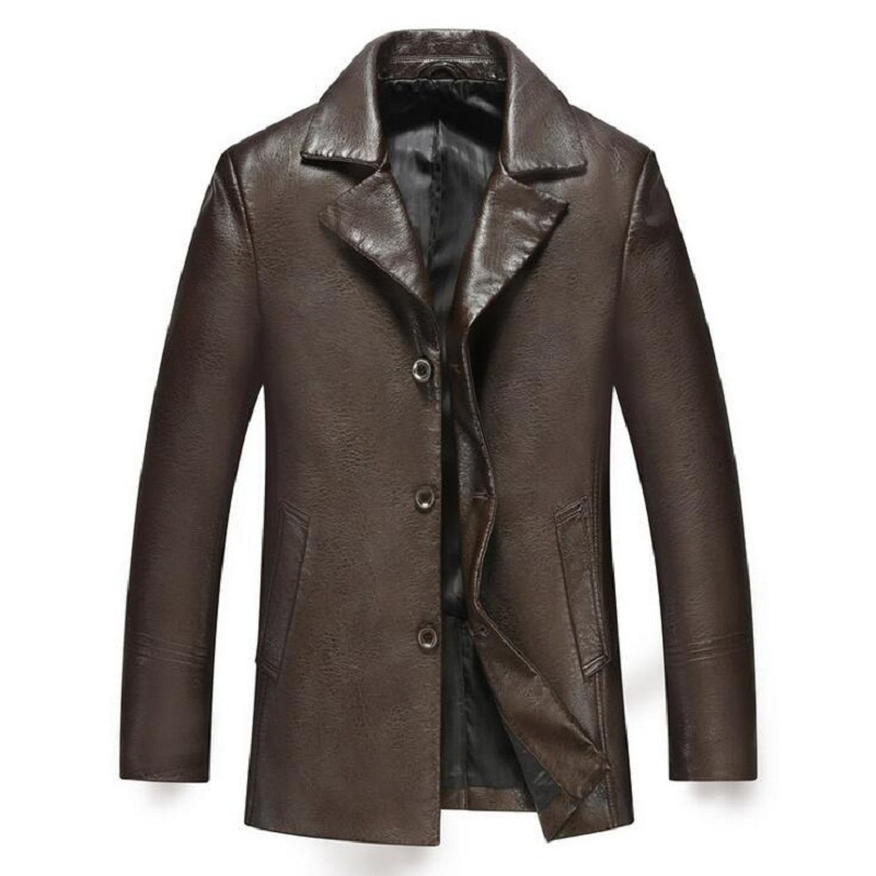 Good Quality 2015 Autumn/Winter Brand Motorcycle Leather Jacket Men jaqueta de couro masculina Mens Leather Jackets#1527(China (Mainland))