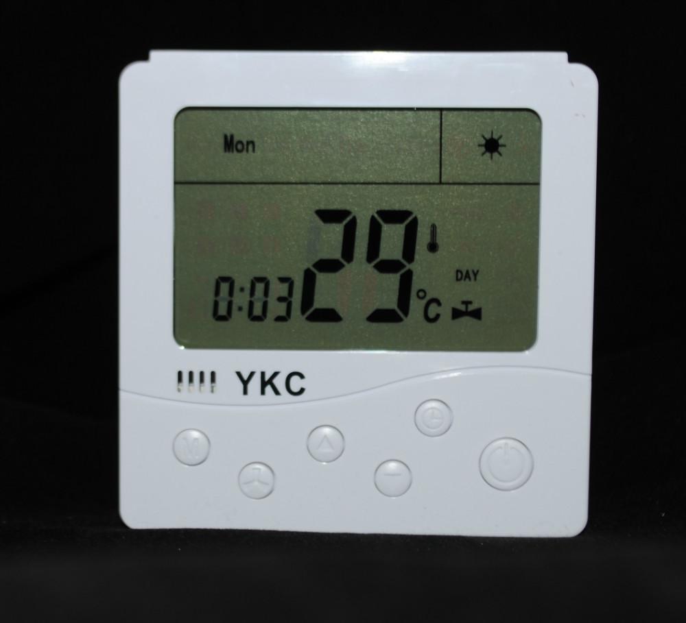 Гаджет  Digital Display Heating Boiler battery Thermostat for built-in Installation (HS-B702) None Строительство и Недвижимость