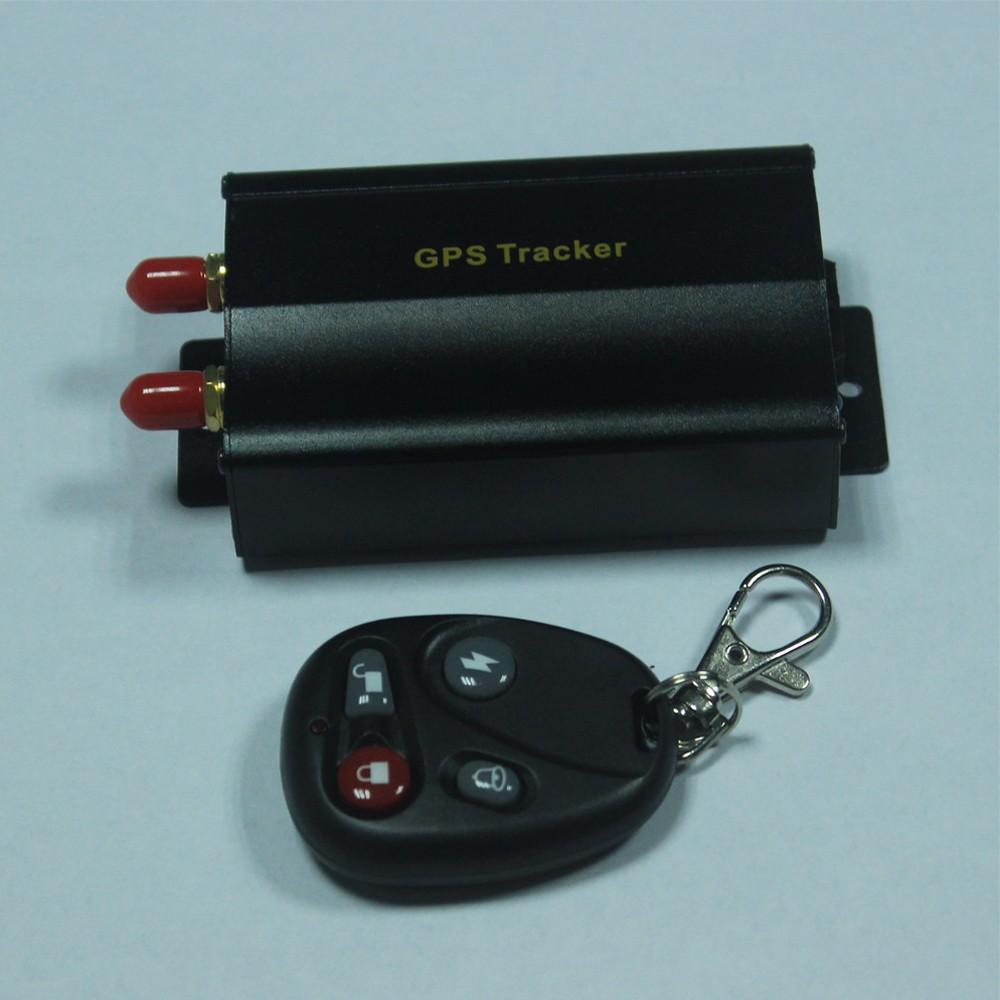 Купить GPS трекер Поддержка пульта дистанционного управления, в Режиме реального Времени GSM/GPRS Слежения За Автотранспортными Средствами Автомобильный GPS Tracker 103