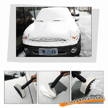 High-quality Mini Auto Car Vehicle Snow Ice Shovel Scraper Removal Clean Tool Black(China (Mainland))