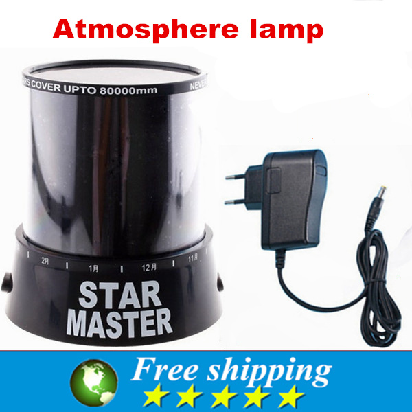 Hot Sale Good Gift and High Quality Sky Star Master LED Night Light, Projector Lamp Novelty Amazing Colorful,Magic toys(China (Mainland))