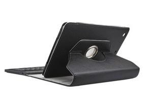 360 Degree Rotating Bluetooth keyboard case for iPad Mini  Premium PU leather exterior and microfiber interior+free shipment