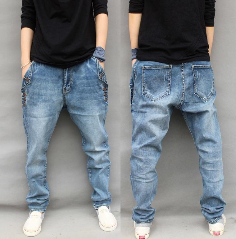 how to make baggy jeans skinny