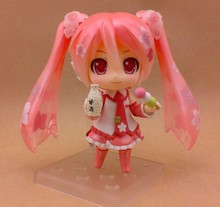 Anime Hastune Miku New Sakura Miku figma 500 Bloomed In Japan PVC Action Figure Cute Resin Collection Model Toy 3D DIY MODEL