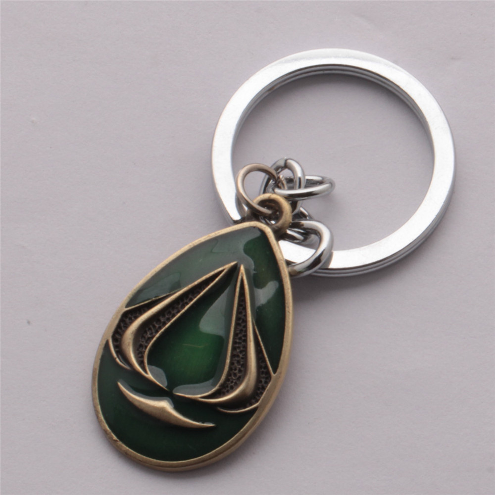 2016 Assassins Creed keychain game key chains ring men jewelry boys birthday gifts keyring free shiping 12pcs/lot<br><br>Aliexpress