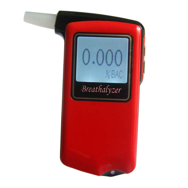 Free shipping blood alcohol tester,alcohol content tester,led breath alcohol tester(China (Mainland))