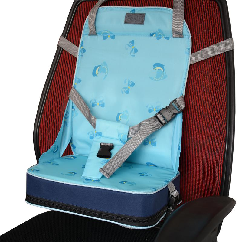Cadeira де bebe детский стул для кормления ребенка стульчик разворачивается обеденный с ремни безопасности детское сиденье подушка стул коврик портативный