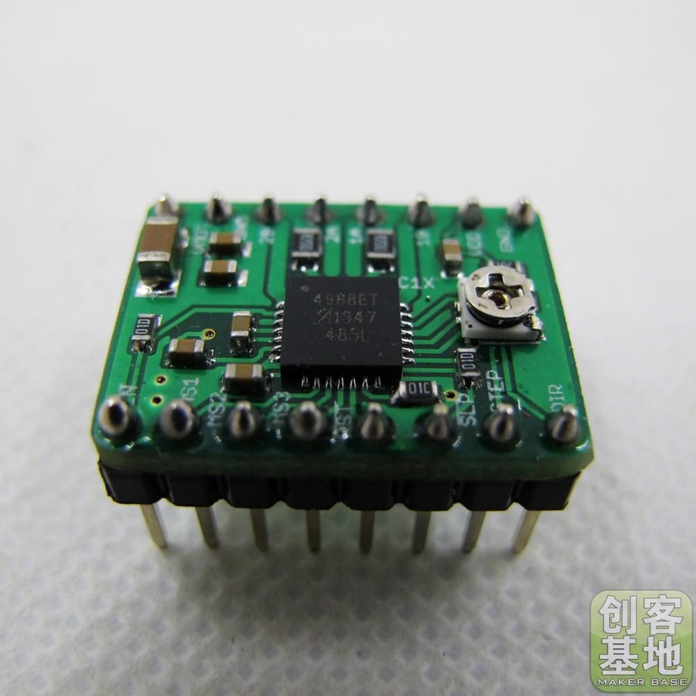 3D printer A4988 stepper motor driver Reprap heat sink a large quantity favorably green version