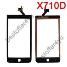 For HAIPAI X710D ANDROID HAIPAI X710D New Touch Screen Digitizer Replacement Phone Free Shipping WITH TRACKING NO(China (Mainland))