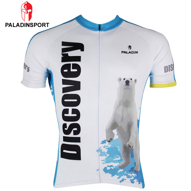 Cycling clothing,Paladin Man Short Sleeves Polar Bear Cycling Jersey Bike Sportswear MTB Cycling Clothing Bicycle Tops Shirts(China (Mainland))