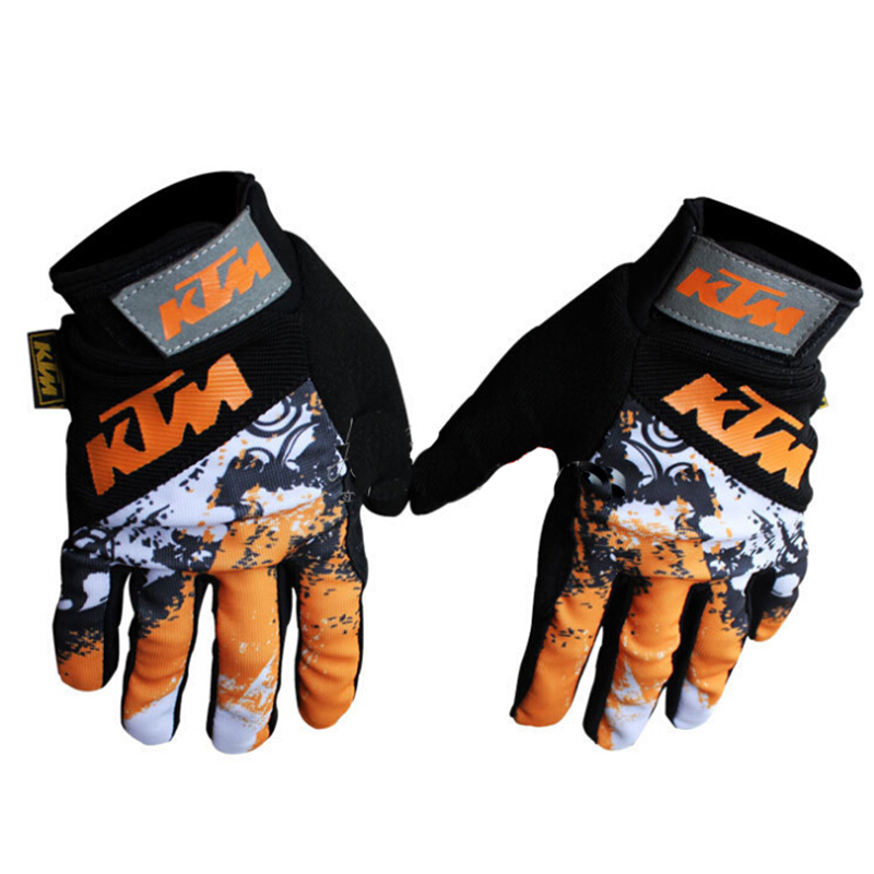 Hot Sale KTM Motorcycle Gloves BMX ATV MTB MX Off Road Warm Protective Gloves Scooter Dirt Bike Bicycle Cycling Motocross Gloves(China (Mainland))