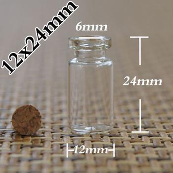 Емкость 0.8 мл 500 шт. оптовая стекло Желая бутылка с корк, пустые 0.8 мл мини стеклянные бутылки с пробками