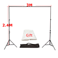 High Quality 3M x2 4M Photo Studio Aluminum Photography Backgrounds Backdrop Support System Stands with Free