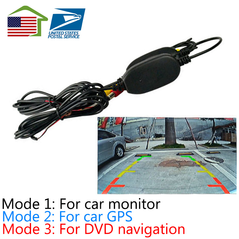 2016 Upgraded version /For car monitor/GPSnavigation/2.4 Ghz Wireless Video Transmitter Receiver Kit Car Rear View Camera(China (Mainland))