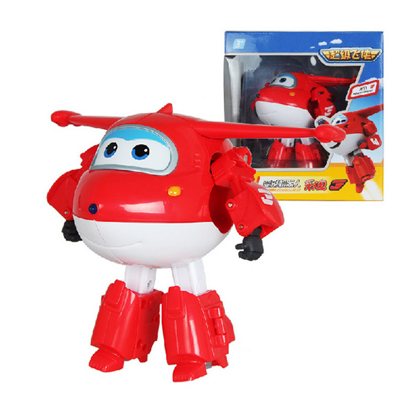 Super Wings Deformation Airplane Robot 8 Style Big Size 15cm ABS Action Figures Super Wing Transformation toys Brinquedos(China (Mainland))