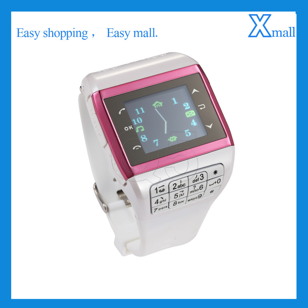 Watch Mobile Touch Screen Quad Band Support MP3 MP4 3GP Record Watch Cell Phone Q5 Phone Watch(China (Mainland))