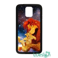 Fit for iphone 4 4s 5 5s 5c se 6 6s plus ipod touch 4/5/6 back skins cellphone case cover Lion King Nebula