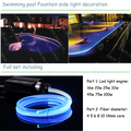 big size 14mm plastic pmma fiber optic cable for swimming pool lighting home decor
