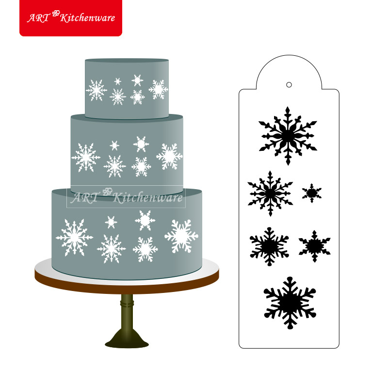 Aliexpress.com : Buy Snowflake Cake and Cookie Stencil ...