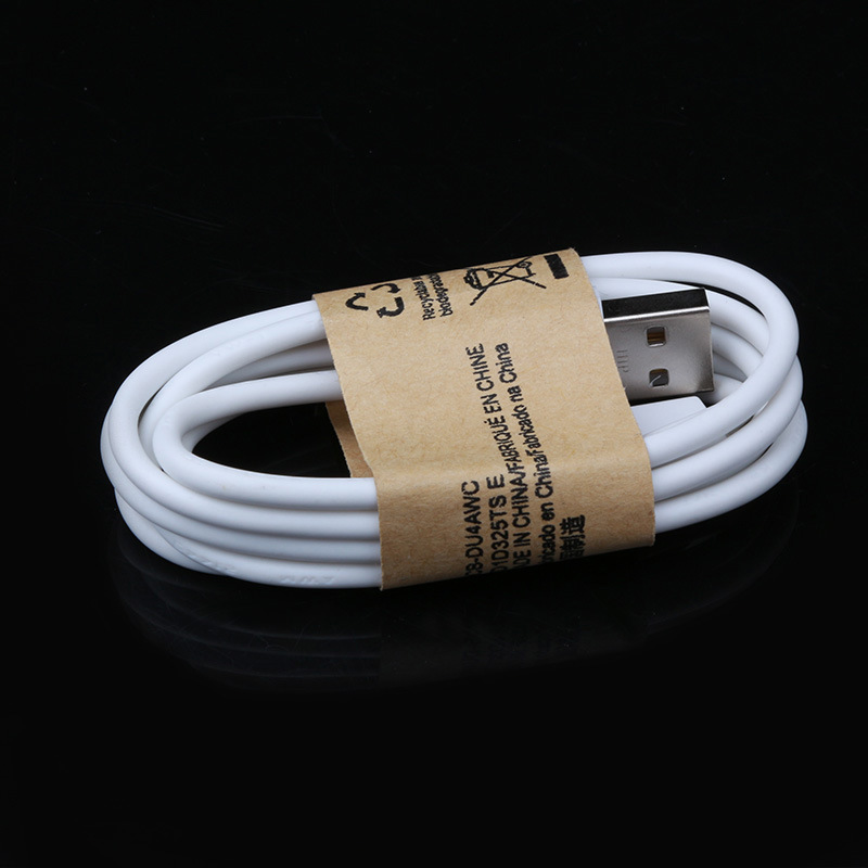 1pc 1M white Micro USB Cable Mobile Phone Charging Cable for samsung galaxy S3 S4 S5 HTC Android Phone(China (Mainland))