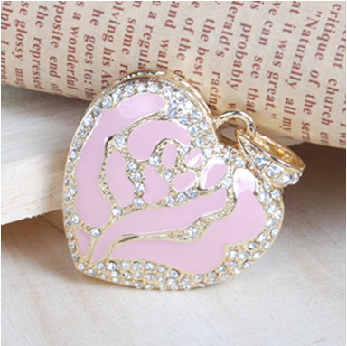 Crystal Heart Shaped USB Flash Drive Disk Necklace 8GB 16GB 32GB 64GB pen gift driver- Free Shipping F-H071-Free shipping(China (Mainland))
