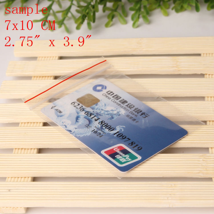 7×10 Cm 100pcs/lot Experience price Zip lock Clear Self Sealing Plastic Bags,ziplock poly bags  plastic storage bags ziploc